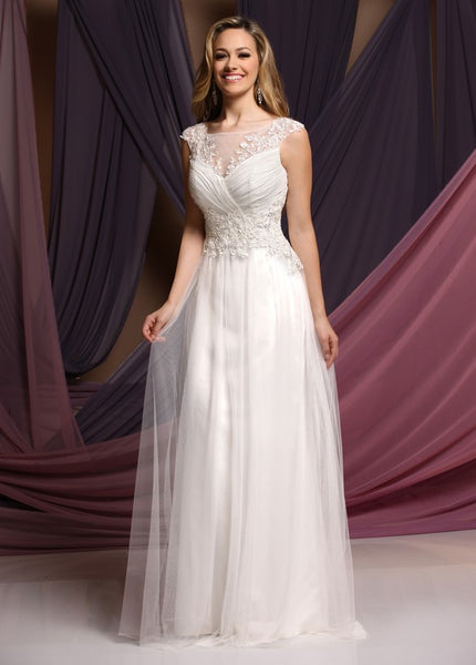 Sample DaVinci Wedding Dress Style #F7034