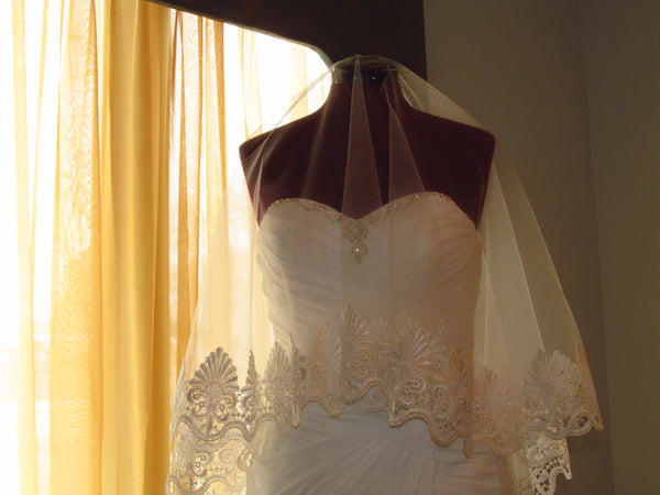 Mantilla Drop Wedding Veil