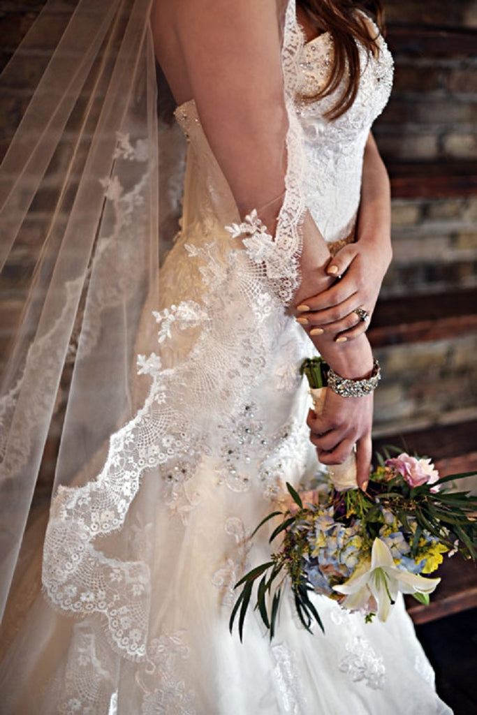 Mantilla Drop Veil