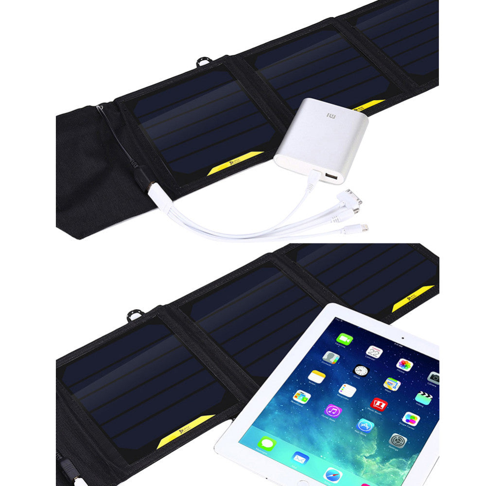 Multi-function Solar Charger Power Bank for Smart phones (Outdoor Activities)