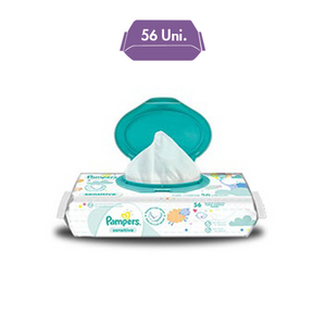 Pampers Sensitive Lenços Assinatura
