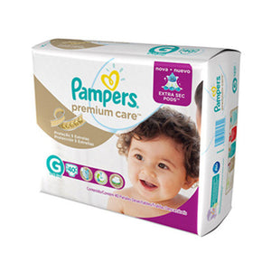 Fralda Pampers Premium Care G (40 unidades)
