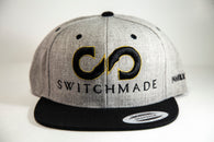 Switchmade Heather Grey/Black Snapback