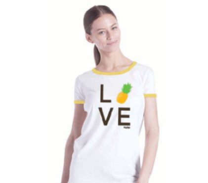 Pineapple LOVE shirt
