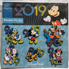 Disney Pin Booster Sets