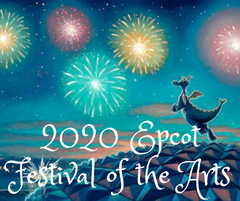 2020 Epcot Festival of the Arts