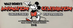 Animation Celebration Pin Trading Event