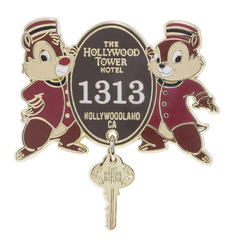 Tower of Terror Disney Pins
