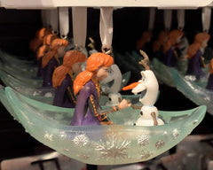 Anna and Olaf Frozen 2 Sketchbook Disney Ornament