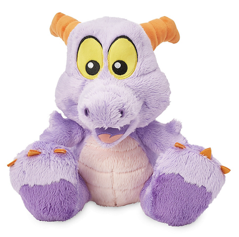 "10"" Figment Big Feet Disney Plush Doll"