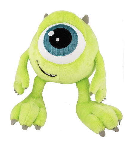 "10"" Big Feet Mike Wazowski Disney Plush Doll"