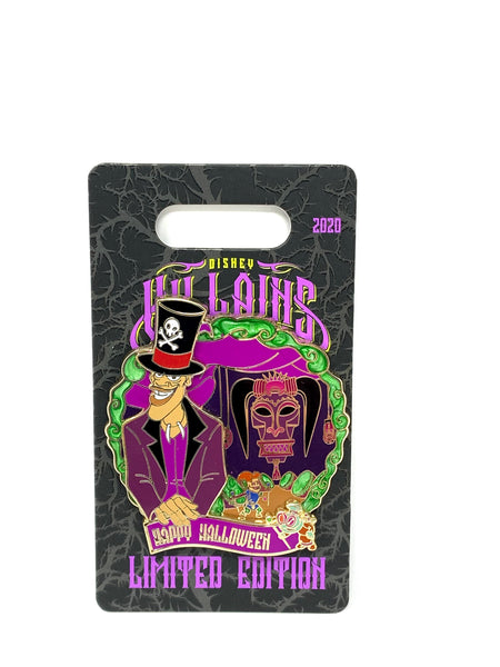 Dr. Facilier Villains Lairs Happy Halloween 2020 Limited Edition Disney Pin