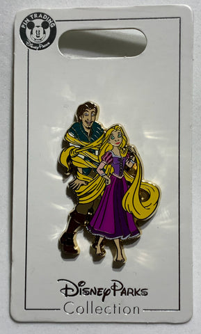 Rapunzel and Flynn Rider Disney Pin
