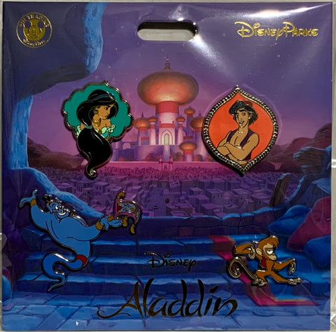 Aladdin Disney Booster Pin Set