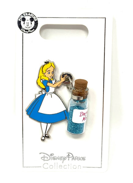 Alice Drink Me Bottle Disney Pin