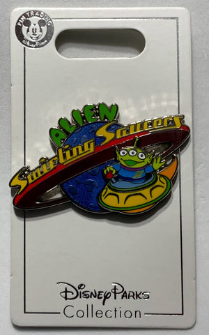 Alien Swirling Saucers Toy Story Land Disney Pin