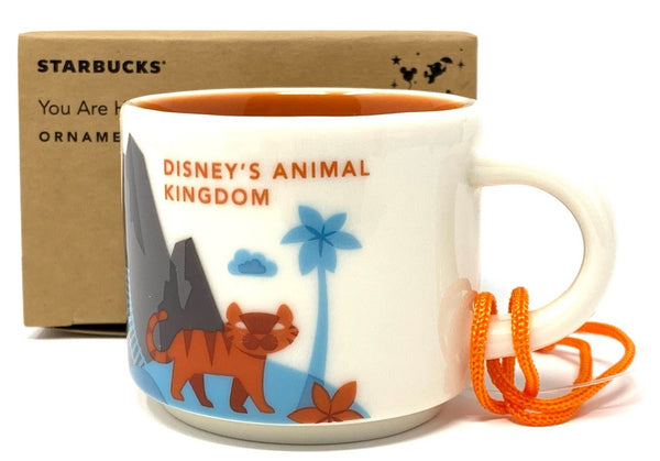 Animal Kingdom Starbucks You Are Here Collection Ornament