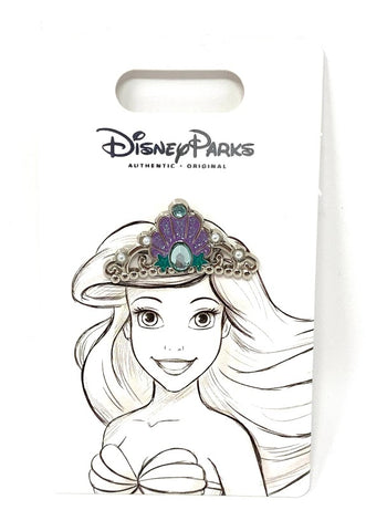 Ariel Tiara The Little Mermaid Disney Pin