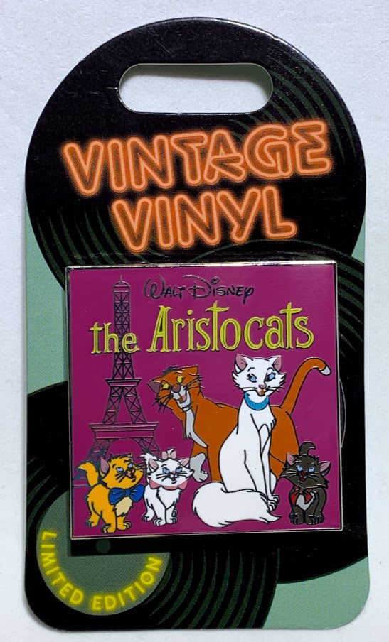 The Aristocats Vintage Vinyl Disney Pin