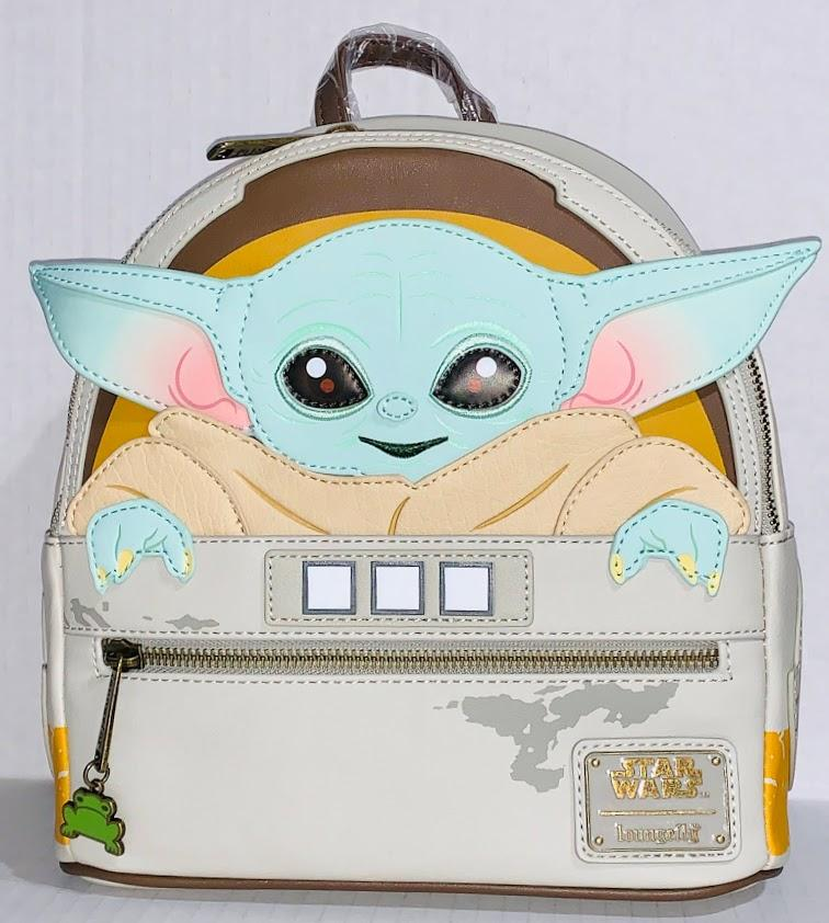 Baby Yoda The Child Mandalorian Star Wars Disney Loungefly Mini Backpack