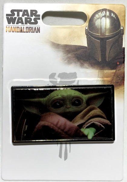 Baby Yoda Grogu The Mandalorian Disney Pin