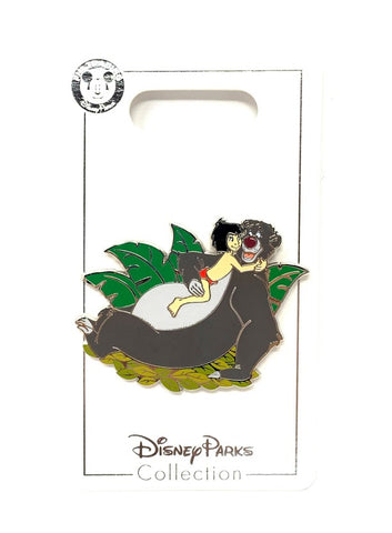 Baloo and Mowgli Disney Pin