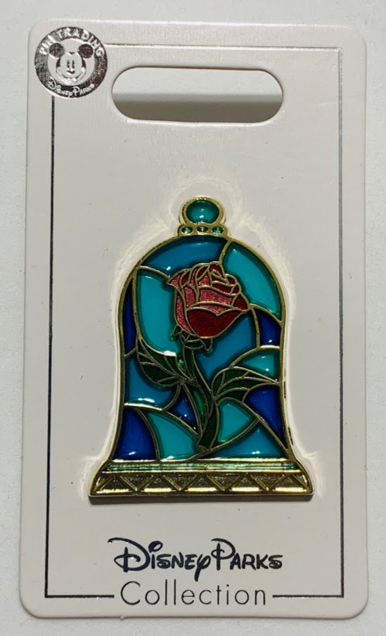 Beauty and the Beast Enchanted Rose Disney Pin