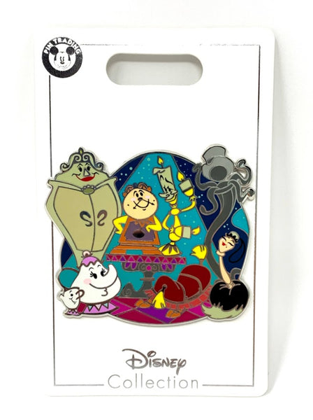 Beauty and the Beast Family Disney Pin
