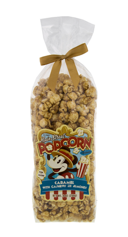 Caramel with Cashews and Almonds Disney Main Street Popcorn