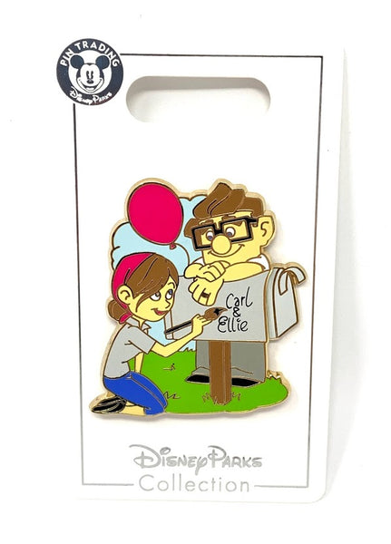 Carl and Ellie Mailbox Up Disney Pin