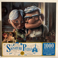 Carl and Ellie Up 2 Sided Disney Parks Signature Puzzle