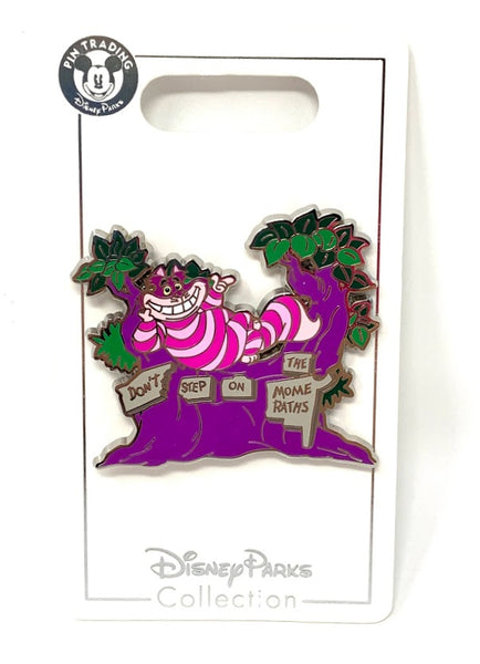 Cheshire Cat Don't Step on the Mome Raths Disney Pin