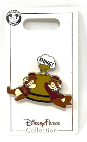 Chip and Dale Bellhops Tower of Terror Disney Pin