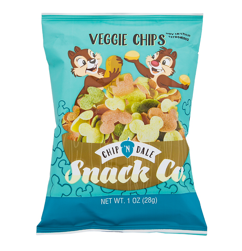 Chip Dale Snack Company Veggie Chips 1 Oz My Disney Shop