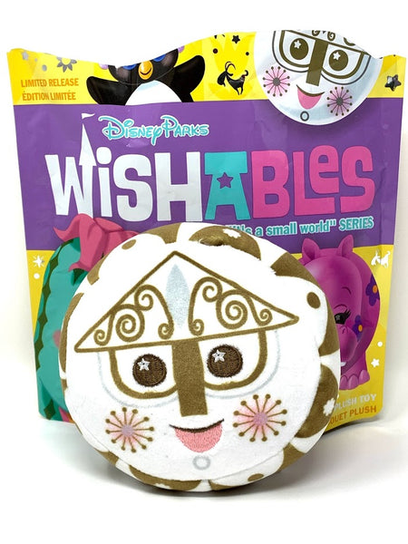 Clock Face It's a Small World Series Disney Wishable Plush