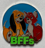 Copper and Tod BFFs Mystery Disney Pin