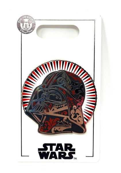 Darth Vader Helmet Star Wars Disney Pin