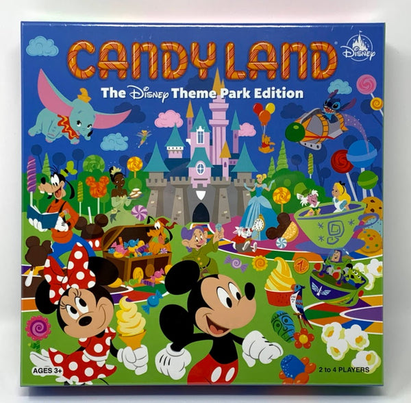 Candy Land Disney Theme Park Edition Board Game