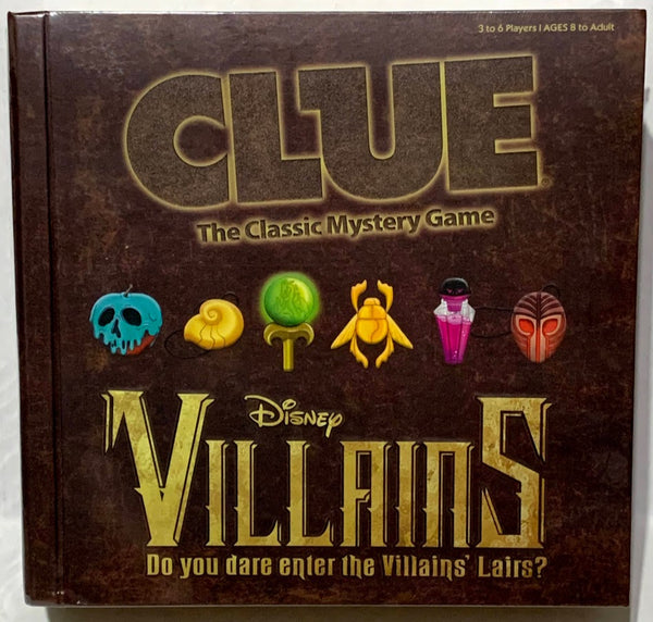 Disney Villains Clue Board Game