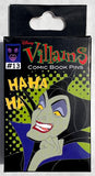 Ursula Disney Villains Comic Book Mystery Disney Pin