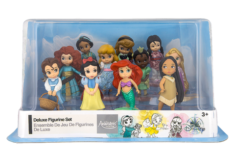 Disney Princess Animators' Collection Deluxe Figurine Play Set