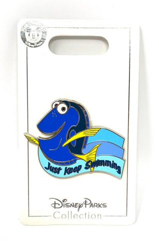 Dory Just Keep Swimming Disney Pin