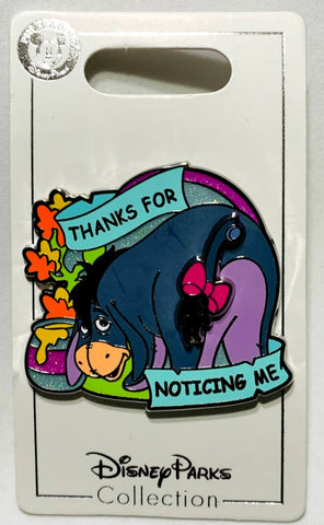 Eeyore Thanks For Noticing Me Disney Pin