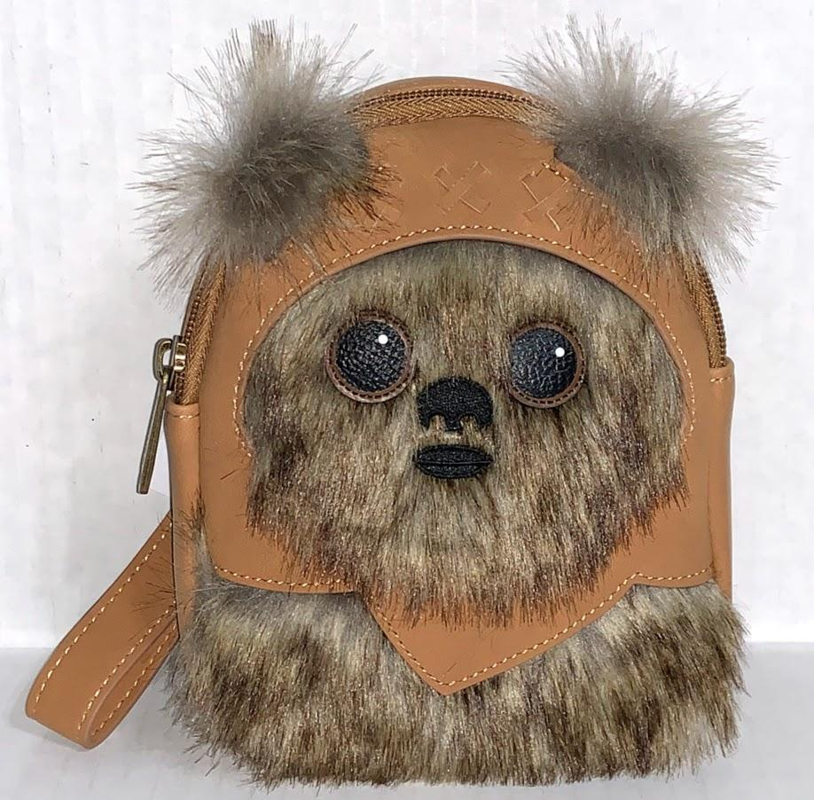 Ewok Star Wars Loungefly Backpack Wristlet
