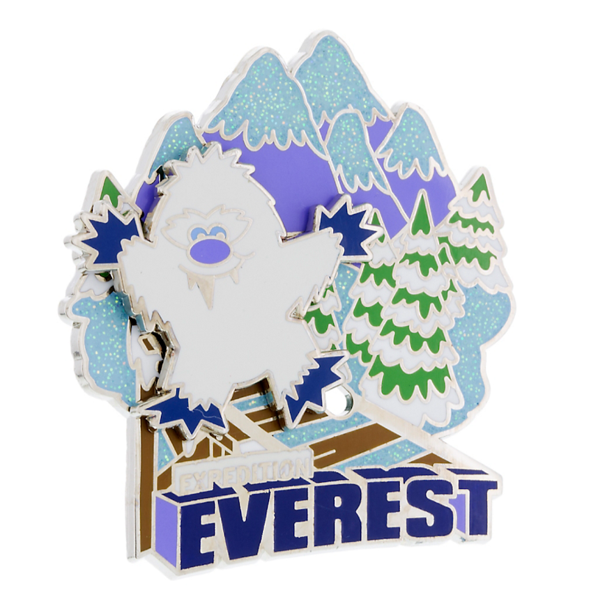 Expedition Everest Cutie Yeti Disney Pin