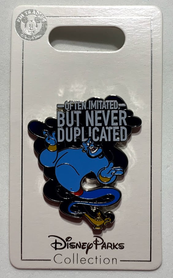 Genie Often Imitated But Never Duplicated Disney Pin