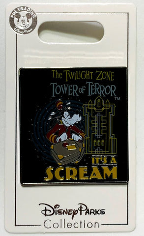 Goofy Bellhop It's A Scream Tower of Terror Disney Pin