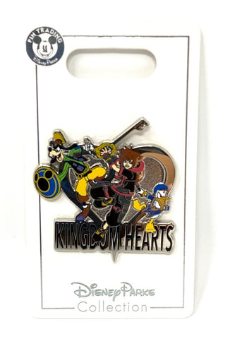 Goofy Sora and Donald Kingdom Hearts Disney Pin