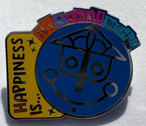 Happiness Is It's A Small World Mystery Disney Pin