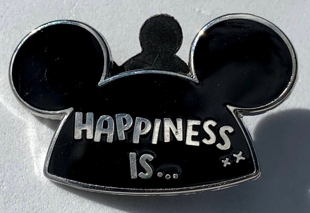 Happiness Is Mickey Mouse Ears Mystery Disney Pin